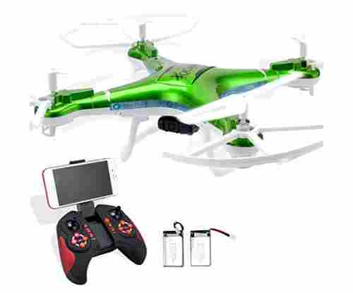 Quadcopter Drone With Camera Live Video and Remote Control