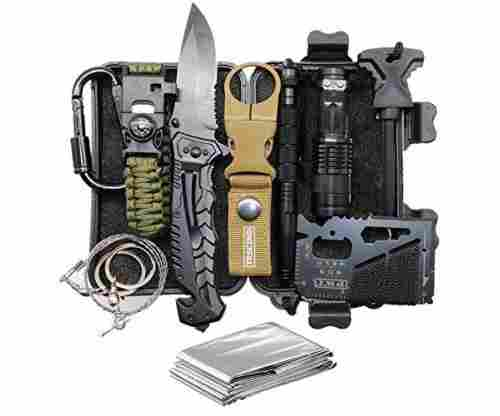 11 in 1 Survival Gear Kit Survival Kit