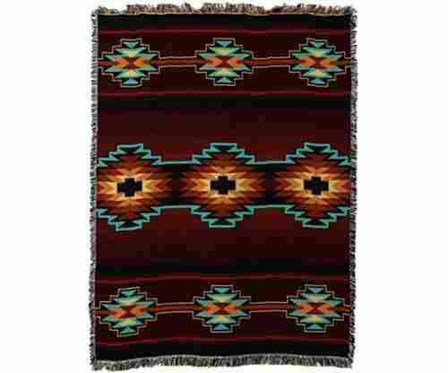 Esme Southwest Geometric Woven Tapestry Throw Blanket