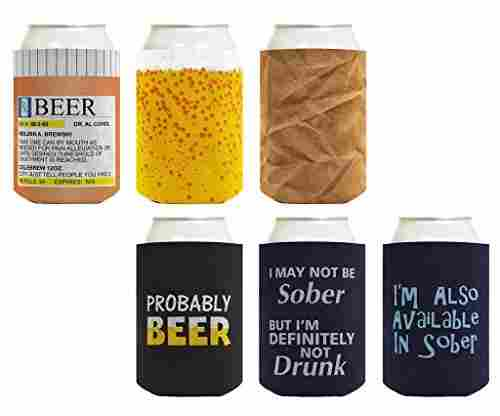 Beer Coolie Drinking Gift Bundle
