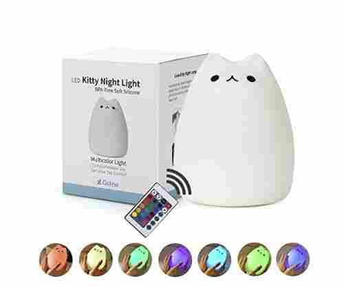 Cat Lamp, GoLine Remote Control Night Light
