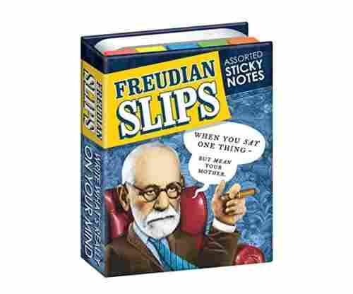 Cool Reminders: Freudian Slips Sticky Notes Booklet