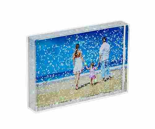 Glitter Liquid Photo Frame