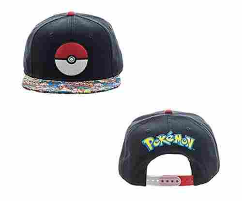 Pokemon Pokeball Snap Back Hat Fully Reviewed