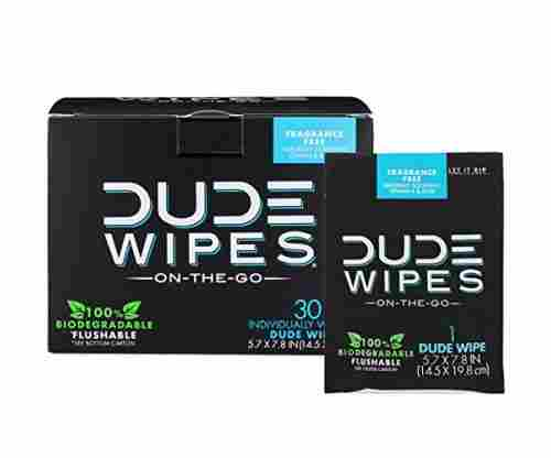 DUDE Wipes – Flushable Wet Wipes