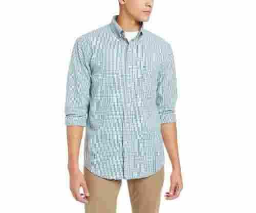 IZOD Men's Tattersall Long Sleeve Shirt