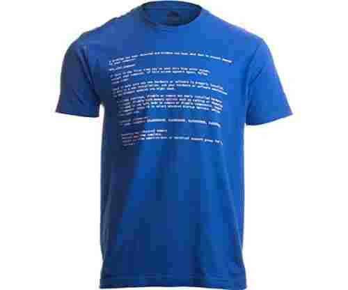 Blue Screen of Death – Geeky Windows Error – T-Shirt