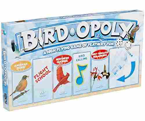 Bird-Opoly Boardgame