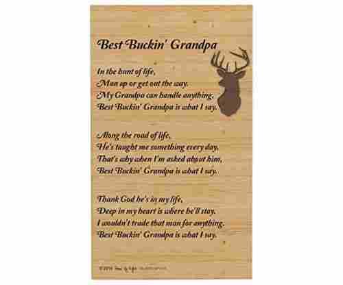 Best Buckin Grandpa Poem
