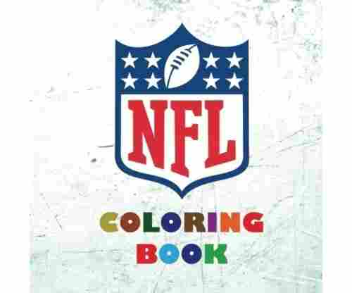 NFL Coloring Book (2017-2018): All 32 NFL American Football Team Logos