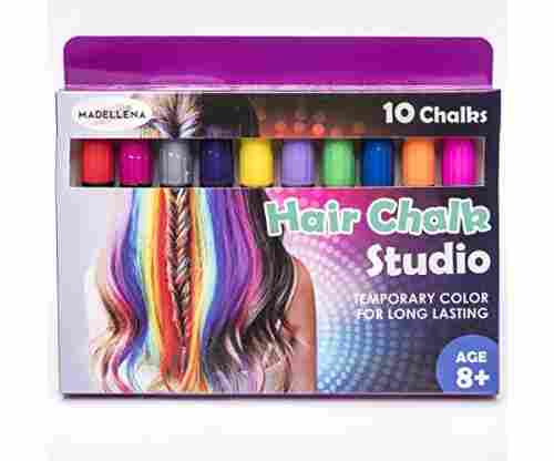 Madellena: 10 Colorful Hair Chalk Pens