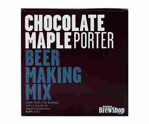 Chocolate Maple Porter Beer Making Mix by Brooklyn Brew Shop