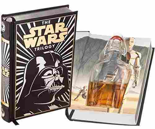Flask Star Wars Hollow Book Leather-Bound with Magnetic Closure