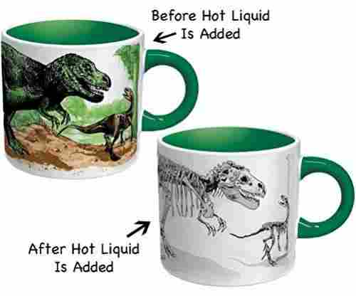 Magic Color Changing Dinosaur Coffee & Tea Mug