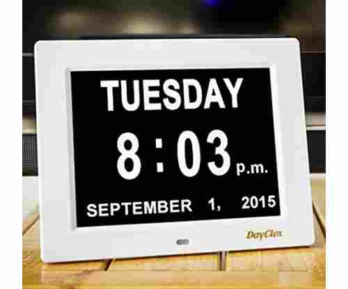 DayClox – The Original Memory Loss Digital Calendar Day Clock