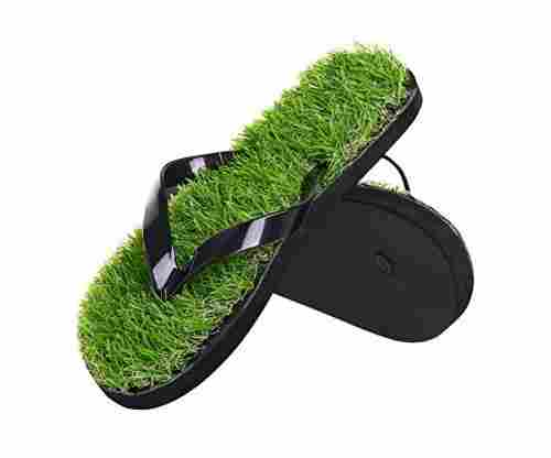 Grass Flip Flops – Summer Beach Grass Simulation Sandals