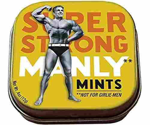 The Unemployed Philosophers Guild Manly Mints – 1 Tin of Mints