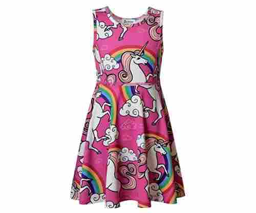Jxstar Girl's Unicorn Dress