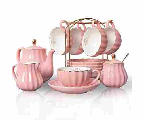 Porcelain Tea Set – British Royal Series