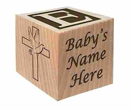 Personalized Baby Block by Glitzby