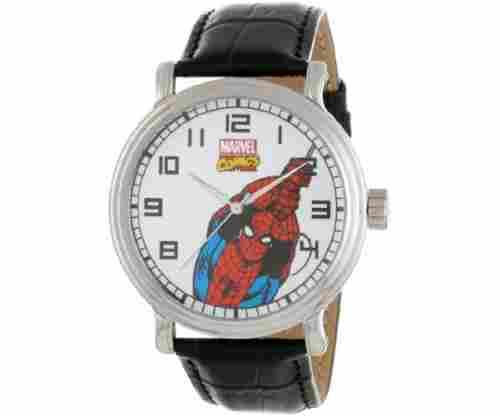 Marvel Men's Spider-Man Vintage Black Watch