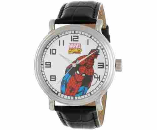 Marvel Men's Spider-Man Vintage Black Watch
