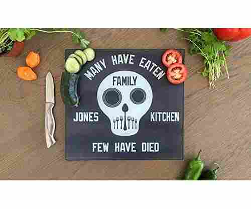 Personalized Unique Kitchen Cutting Board