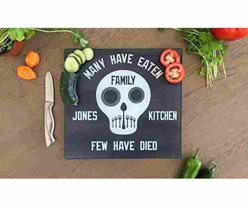 Personalized Unique Kitchen Cutting Board