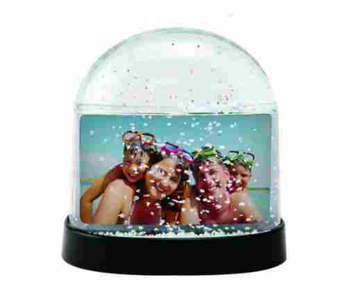 Horizontal Photo Snow Globe