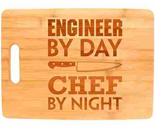 Bamboo Cutting Board – Engineer by Day, Chef by Night