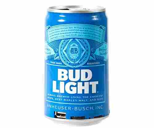 Bud Light Bluetooth Can Speaker – Wireless and Portable