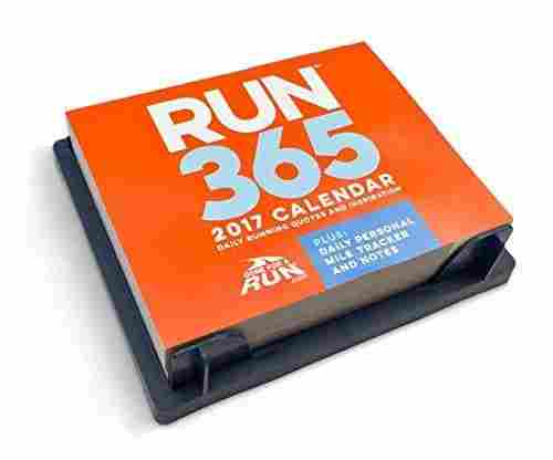 2018 Runner's Daily Desk Calendar