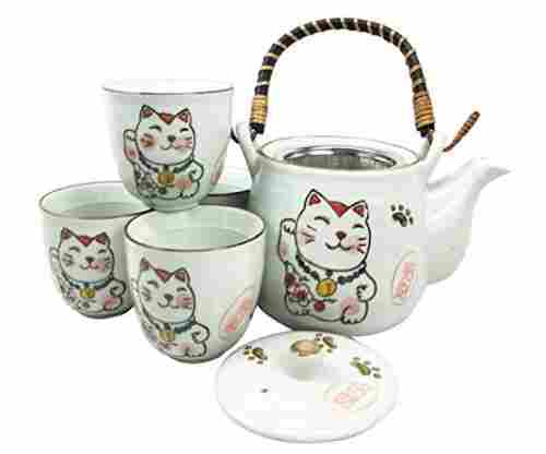 Maneki Neko Tea Set