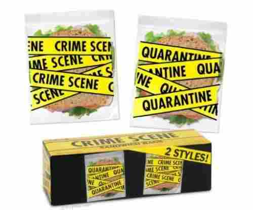 Crime Scene Sandwich Bags For Law Enforcement Officers