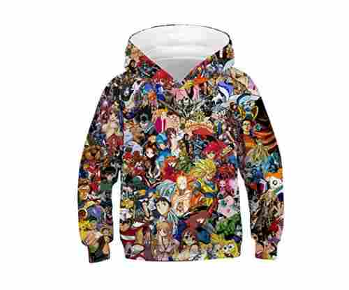 Azuki Anime Hoodie for Kids