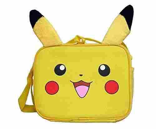 Pokemon Nintendo Plush Pikachu Lunch Bag