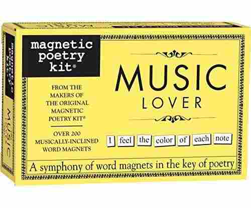 Magnetic Poetry Music Lover Kit