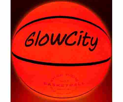 Light Up Basketball – Uses Two High Bright LED's