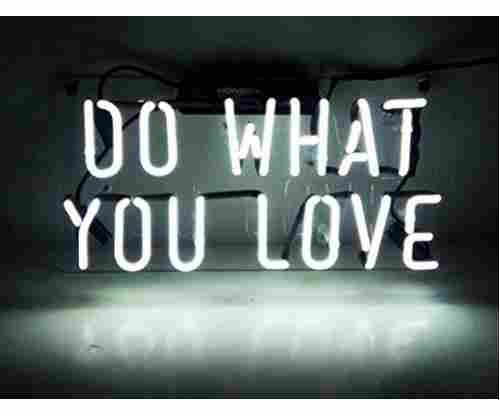 Neon Light Sign – Do What You Love