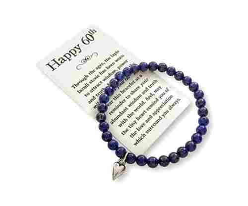 Bead Bracelet with Meaningful Message Card & Gift Box