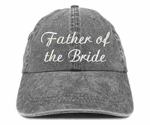 Trendy Apparel Shop Wedding Embroidered Cap