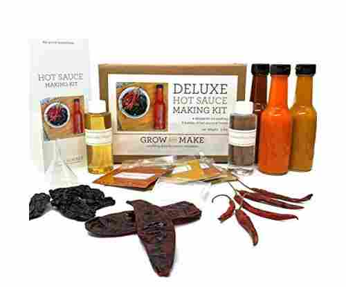 Grow and Make Deluxe DIY Gourmet Hot Sauce Kit