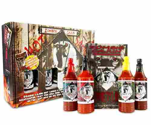 Zombie Cajun Hot Sauce Gourmet Basket