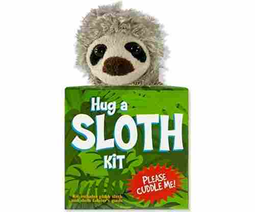 Hug a Sloth Kit (Book With Plush) – Paperback