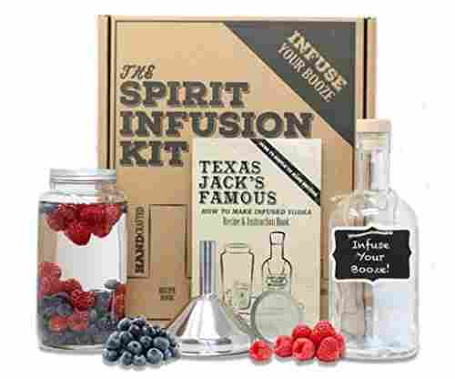 The SPIRIT INFUSION KIT – Infuse Your Booze! 70+ Homemade Flavored Vodka Recipes