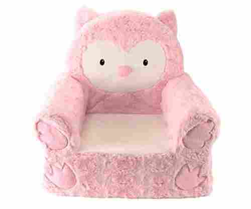 Animal Adventure Sweet Seats Pink Owl Children's Chair