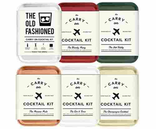 Carry On Cocktail Kit Holiday Set