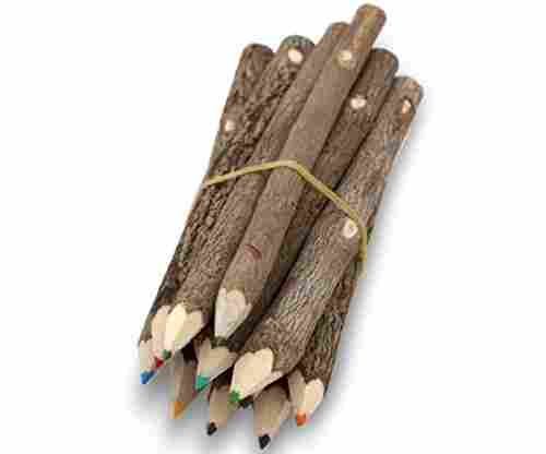Assorted Stick Twig Colored Outdoor Wooden Pencils