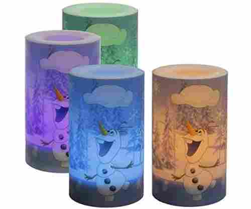 Frozen Color Changing LED Candles Reviewed