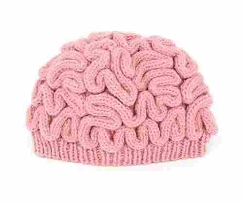 LZWIN Creative Hand Made Brain Knitted Hat